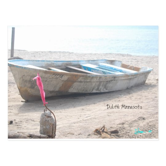 Abandon Boat, Duluth Minnesota Postcard