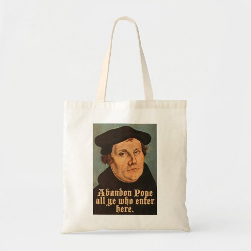 Abandon Pope All Ye Who Enter Here Tote Bag