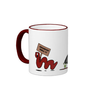 Abandon Shell! Mug
