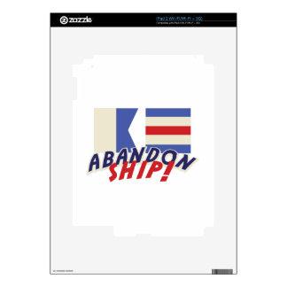 Abandon Ship iPad 2 Skins