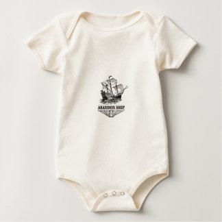 abandon ship yeah baby bodysuit