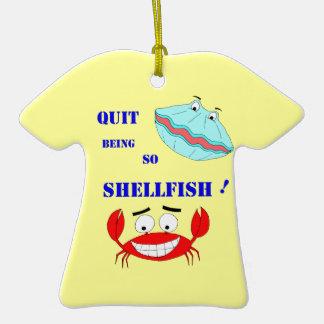 ¡Abandonado el ser tan crustáceos! Ornato