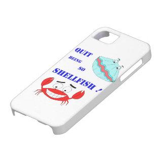 ¡Abandonado el ser tan crustáceos! iPhone 5 Protectores