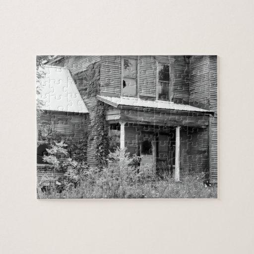 Abandonado Rompecabeza Con Fotos