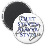 Abandone el estilo del pizarrero de Steven en azul Iman De Nevera