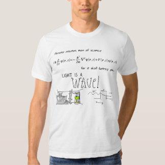 Abandone la camiseta de la intuición [la LUZ] Poleras