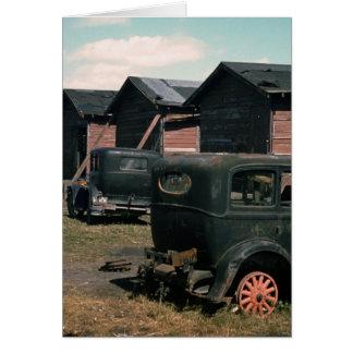 Abandoned, 1941 greeting card