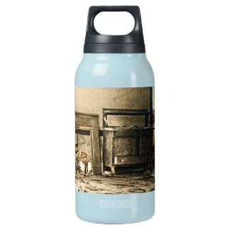 Abandoned Antique Furniture Insulated Water Bottle