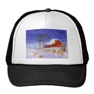 Abandoned Barn in Winter, Hat