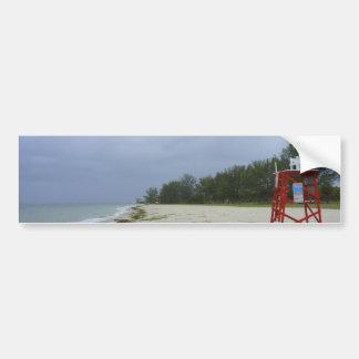 Abandoned Beach Bumper Sticker