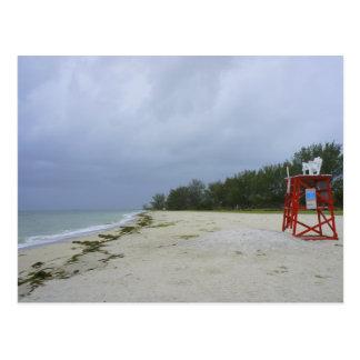 Abandoned Beach Postcard