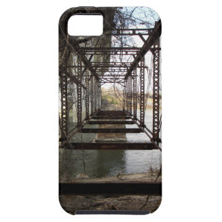 Abandoned bridge on Belle Isle iPhone SE/5/5s Case