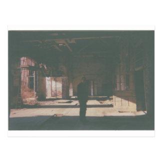 Abandoned Building, Decay 35 mm Original Postcard