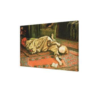 Abandoned, c.1881-2 canvas print
