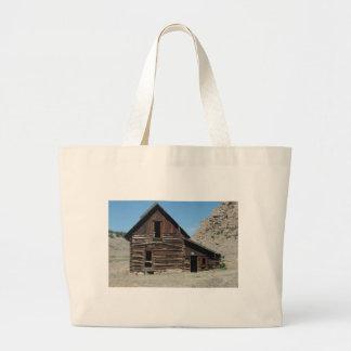Abandoned Cabin Large Tote Bag