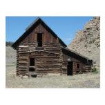 Abandoned Cabin Postcard