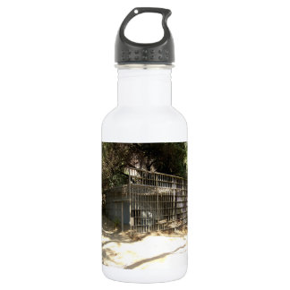 Abandoned Cage At The Old LA Zoo 18oz Water Bottle