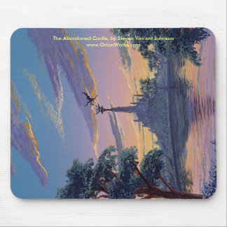 Abandoned Castle, The Abandoned Castle, by Stev... Mouse Pad