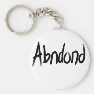 Abandoned Collection of Gifts Basic Round Button Keychain
