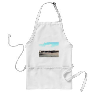 Abandoned Corral Adult Apron