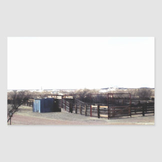 Abandoned Corral Stickers