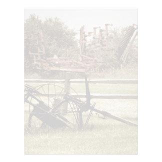 Abandoned Equipment Letterhead