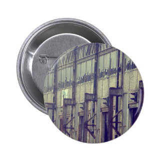 Abandoned Factory Pinback Button