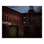 Abandoned Factory Print