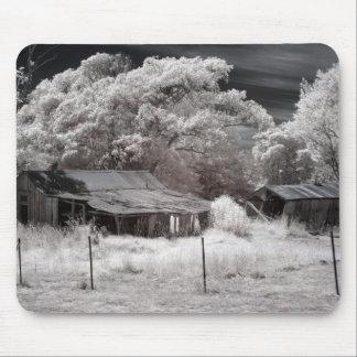 Abandoned Farm Buildings Mouse Pad