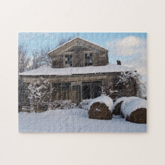 Abandoned Farm House Jigsaw Puzzle