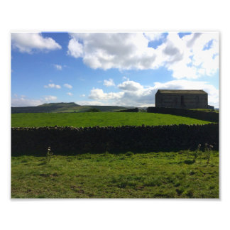 Abandoned Farmhouse Photo Print