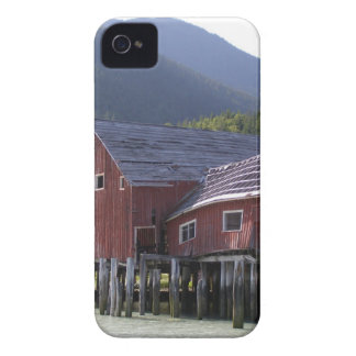 Abandoned Fish Cannery, Bella Coola, BC iPhone 4 Case-Mate Case