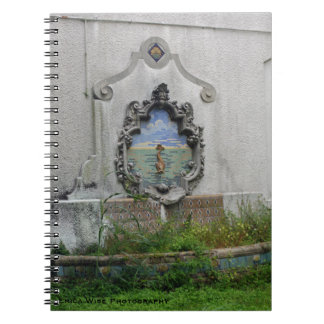 Abandoned Fish Fountain Notebook