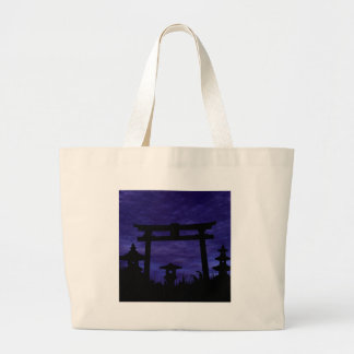 Abandoned Gate Large Tote Bag