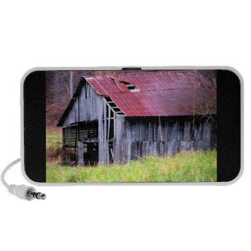 Abandoned Horse Barn Speakers