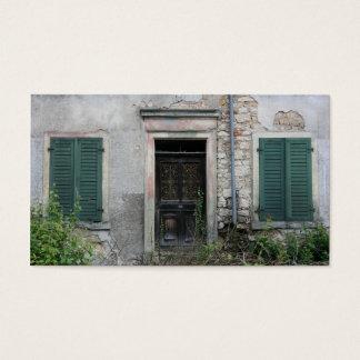 Abandoned house, Basel, Switzerland Business Card