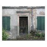 Abandoned house, Basel, Switzerland Photo Print