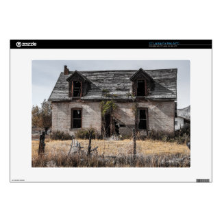 Abandoned House In Central Utah Laptop Decal