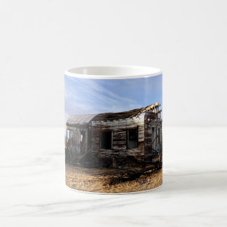 Abandoned House In Kelso California Coffee Mug