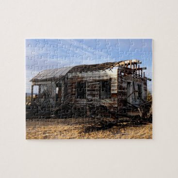 tianxinzheng Abandoned House In Kelso California Jigsaw Puzzle
