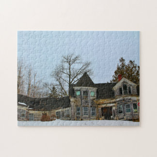 Abandoned House in Searsport, Maine II Jigsaw Puzzle