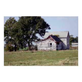 Abandoned House in the Country Poster