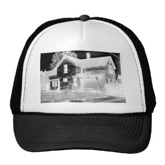 Abandoned House - negative Trucker Hat
