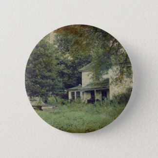 Abandoned House Pinback Button