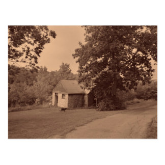 Abandoned House Postcard