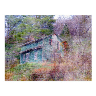 Abandoned House Postcard