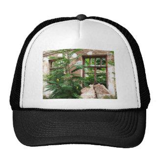 Abandoned house trucker hat