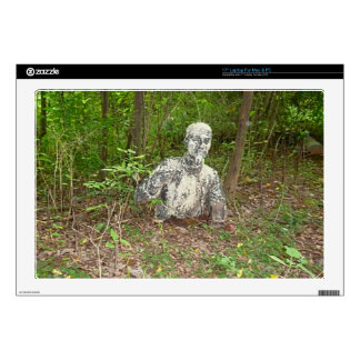 """Abandoned in the Forest Decal For 17"""" Laptop"""