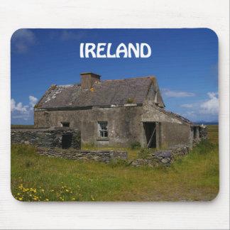 Abandoned Irish Cottage Mouse Pad