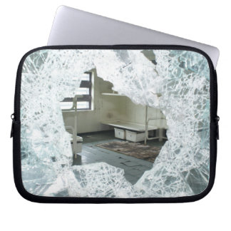 Abandoned Jail Cell Bed Laptop Sleeve